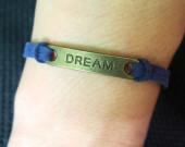 dream-bracelet-navy-blue-leather-bracelet