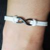 infinity-leather-bracelet-black