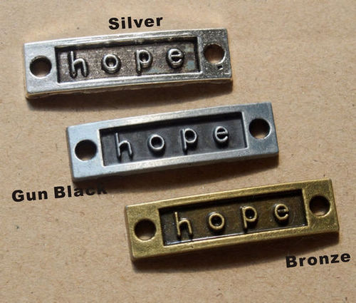 pendants letters of hope