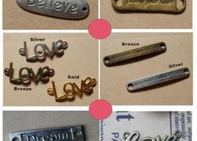 pendants letters word wholesale
