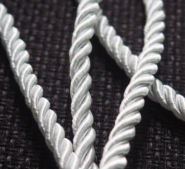 Wholesale craft supplies Silk Rope cord Strand string