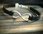 Infinity-bracelet-big-size-in-Silver
