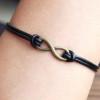 Infinity-bracelet-for-menreal-leather