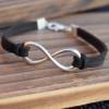 Infinity-silver-bracelet
