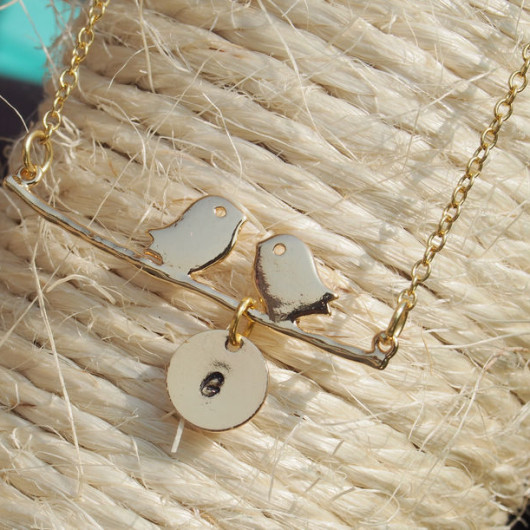 Love-birds-1-initial-necklace-18k-gold-charms