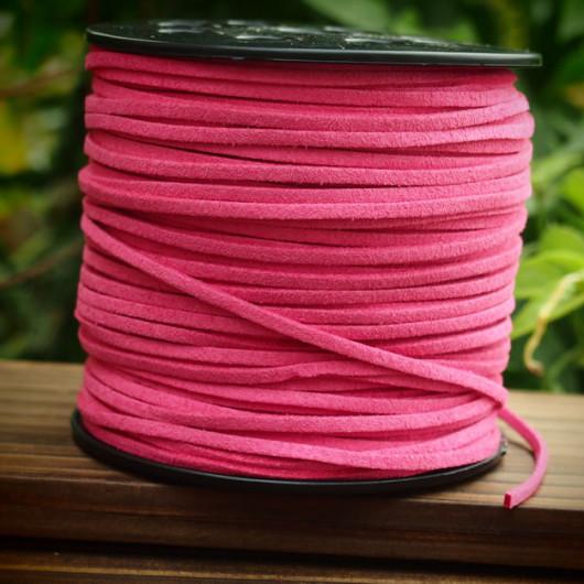Pink-imitation-leather-wholesale