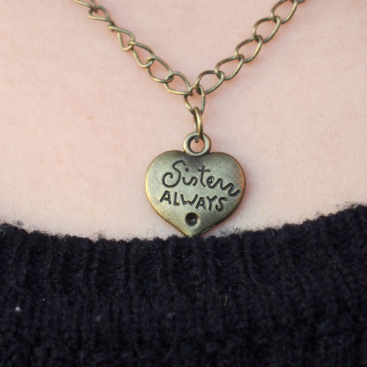 Sister-always-necklace