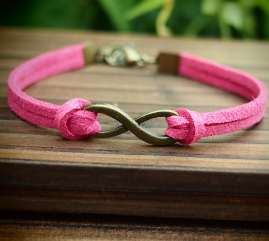 infinity-friendship-bracelet-pink