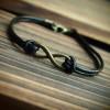 infinityreal-black-leather-bracelet-for-men