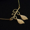 18k-gold-necklace-for-mom-branch-with-luck-leaves