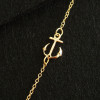 Gold-anchor-necklace-18k-for-her