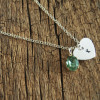 gemstone-necklace-18k-sterling-silver-letter-engraved