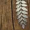 necklace-18k-sterling-silver-leaf-necklace