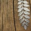 necklace-leaf-18k-silver-necklace