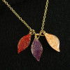 necklace-leaves-colorful-necklace-18k-gold