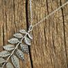 sterling-silver-necklace-leaf-necklace