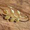 gold-bangle-bracelet-branch-leaf