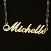 name-Michelle-necklace-handmade-initials