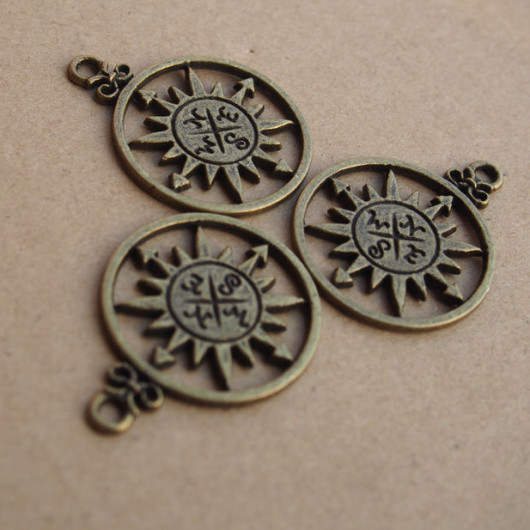 wholesale-bronze-compass-alloy-metal