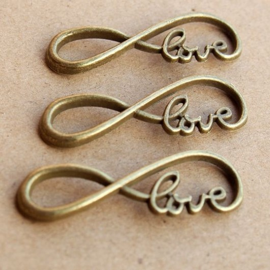 wholesale-bronze-pendants-infinity-love