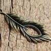 bronze-leaf-feather-pendants