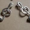 music-skull-pendants