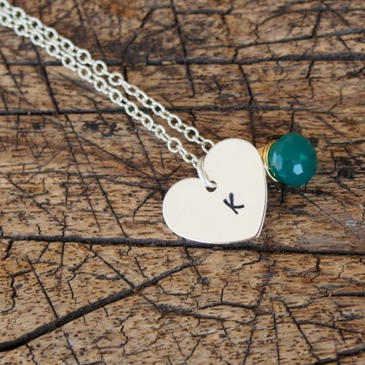personalized-tag-necklace-with-wrapped-stone