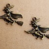 witch-pendants-bronze-wholesale