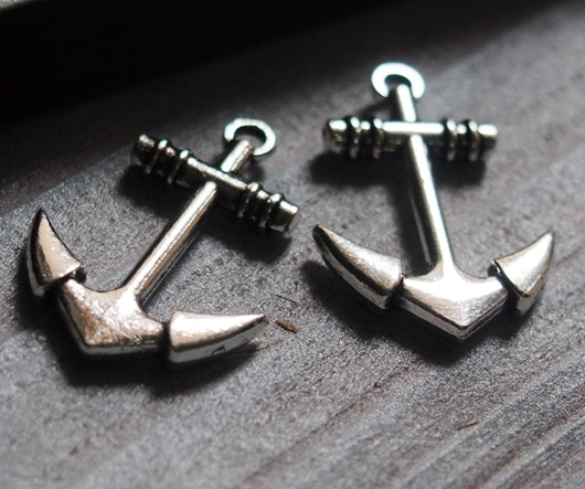 anchor-pendants-wholesale-silver
