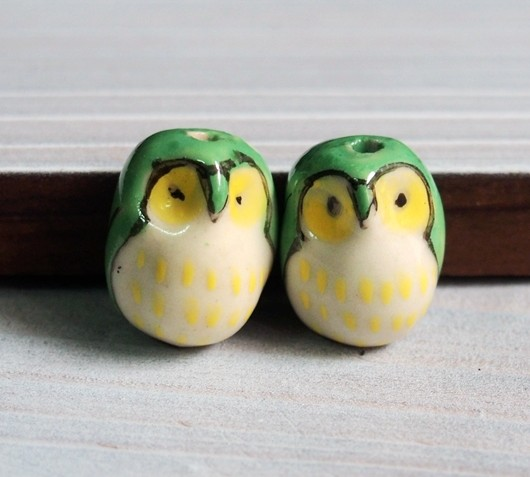 hand-painted-owls-pendants-wholesale