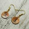 monogram-earrings-initial-earrings