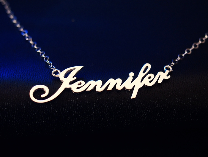 nameplate-necklace-silver
