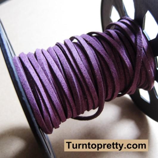 purple leather wholesale