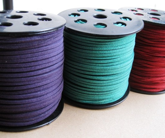 wholesale craft supplies, imitation leather cord