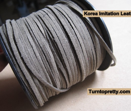 Real leather cord for diy bracelets for Wholesale leather craft supplies