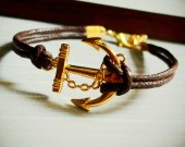 Anchor-bracelet-gold