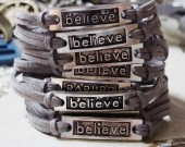 Belive-bracelet