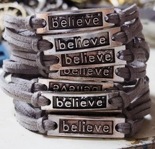 Belive-bracelet