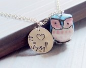 GPS-necklace-owl-necklace