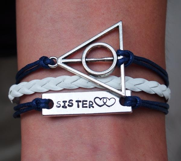 Harry-potter-bracelet-sister-bracelet-heart-to-heart-bracelet
