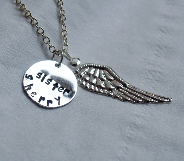 angel-wings-necklace-initial-necklace