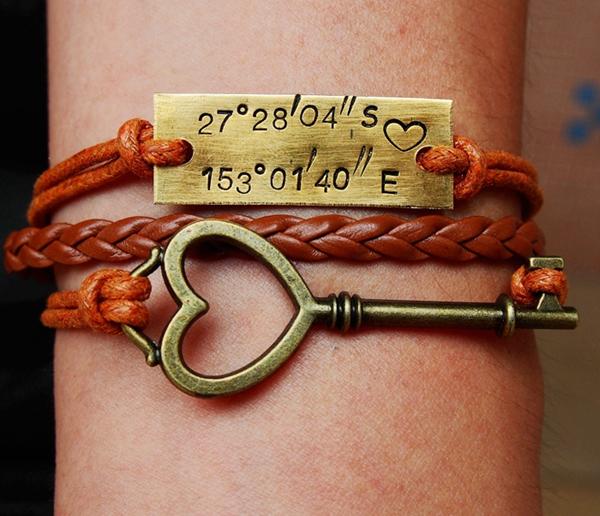 coordinates-bracelet-with-keys