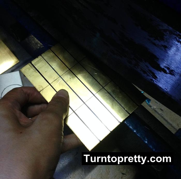 hand cut metal