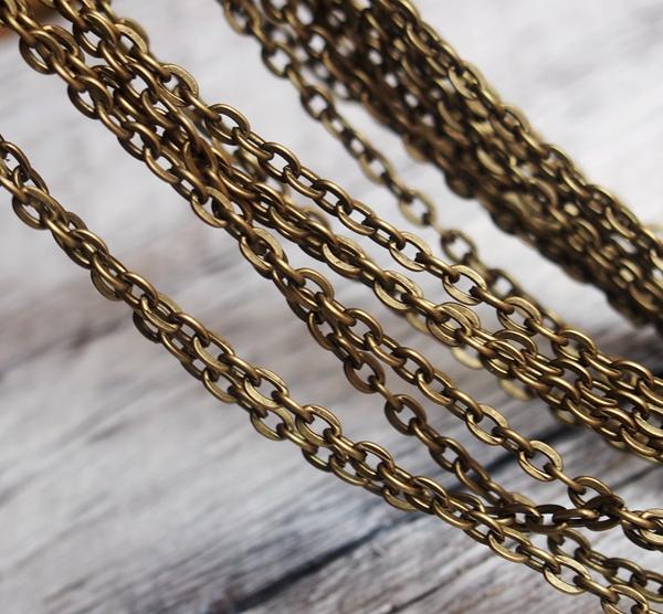 diy craft supplies chain gold wholesale brass