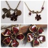 red-wine-flower-pendants