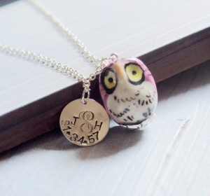sister-necklace-round-tag-necklace-owl-porcelain