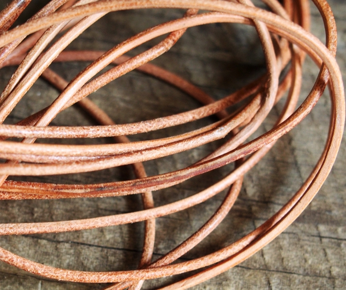 Real leather cords natural color wholesale craft supplies for Wholesale leather craft supplies