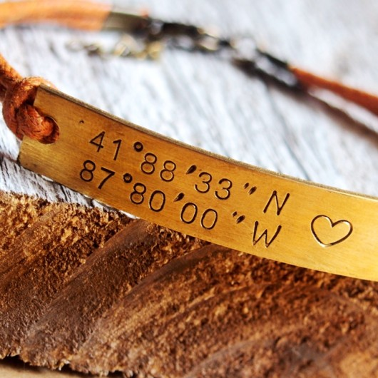 coordinates-bracelet