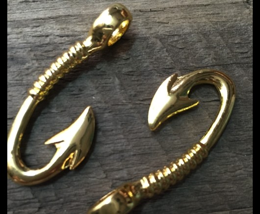 fish hook pendants wholesale