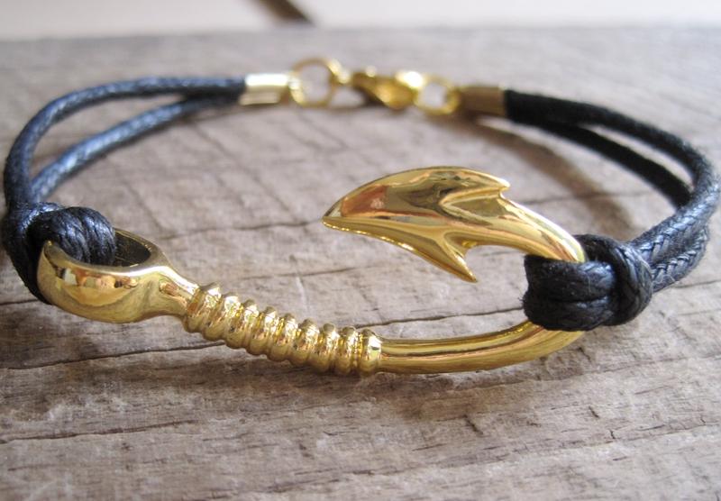 The love bracelet eiffel tower handmade bracelet rose for Mens fishing bracelet